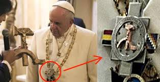 Image result for pope francis and sickle and hammer