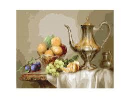 <b>Картина по номерам SilverToys</b> Бузин. Натюрморт с фруктами ...
