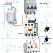 three phase contactor wiring diagram three image phase controller wiring phase failure relay diagram on three phase contactor wiring diagram