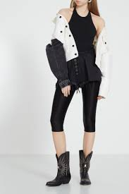 Белая <b>куртка</b> с контрастным рукавом <b>Alexander Wang</b> – купить в ...