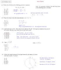 Math Plane - ACT Practice Test 1... act practice test 1 c solutions ...