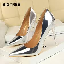 <b>BIGTREE</b> Shoes <b>New</b> Patent Leather Wonen Pumps Fashion Office ...
