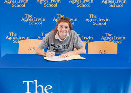 senior midfielder annie mcconnon commits to providence signing annie mcconnon 5 jpg
