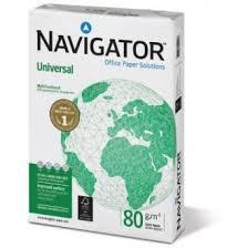 <b>Бумага</b> офисная <b>Navigator</b> Universal A4, 80г/м2, 500л, белая ...