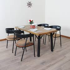 american country old wood table retro home dining tables and chairs combination of solid wood dining amazoncom furniture 62quot industrial wood