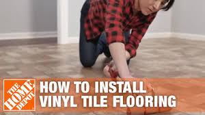 How to Install Peel-and-<b>Stick Vinyl</b> Tile Flooring | The Home Depot ...