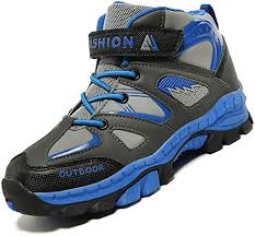 Unitysow <b>Kids Shoes Boys</b> Hiking <b>Boots</b> Girls Trekking Climbing ...