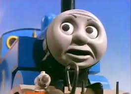 June 9, 2011 / chris viscardi, hit entertainment, shane acker, thomas the tank engine, weta, will mcrobb. thomas-tank-engine-disgusted.jpg - thomas-tank-engine-disgusted