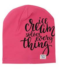 Розовая <b>трикотажная шапка</b> Button Blue для девочек купить ...