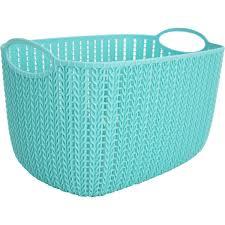 <b>Корзинка для хранения</b> «Вязание», 7 л, цвет морская волна в ...