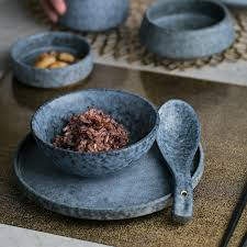 <b>NIMITIME Ceramic</b> Porcelain High Quality Rice Spoon Round <b>Plate</b> ...