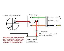 do i really need a relay for a after market horn here s a diagram