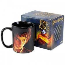 <b>Кружка Lord</b> of the Rings - Frodo and Ring (Heat Change)