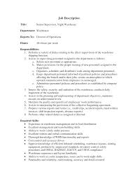 resumes for warehouse workers   sample resume warehouse clerk    warehouse job description sample