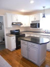 Painted Glazed Kitchen Cabinets Stephon Beachside Cottage Painted Kitchen Cabinets White With