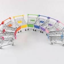 <b>Creative Supermarket Mini</b> Shopping Cart Trolley Metal Simulation ...