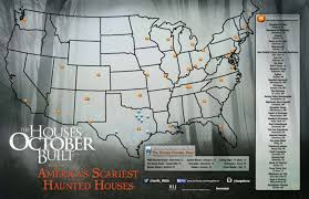check out americas scariest haunts thanks to the houses october built check haunted house