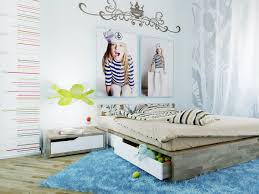 room cute blue ideas:  blue white taupe girls room