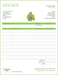 top cleaning service invoice templates demplates cleaning service invoice 19