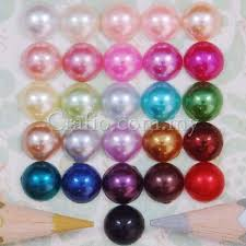 <b>7 mm</b> Flat Back Pearls – Crafio.com.my