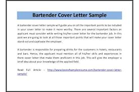 bartender cover letter sample pdf sample bartender resume   resume        x    bartender cover letter