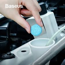 <b>Baseus</b> 12PCS <b>Car Windshield</b> Glass Solid Cleaner