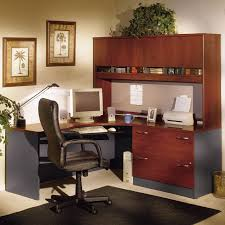 bush series c corner desk and hutch with lateral file desks at hayneedle bush desk hutch office