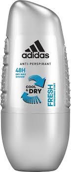 Adidas <b>Дезодорант шариковый Fresh</b>, Cool & Dry, мужской, 50 мл ...