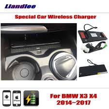 <b>Liandlee For BMW</b> X3 X4 2014~2017 Special Car Wireless Charger ...