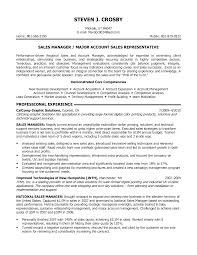 Example Resume  Objectives For Management Resume  sales manager or     Example Resume  Sales Manager Or Major Account Sales Representative With Objectives For Management Resume