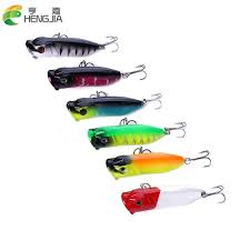 Hengjia Popper Minnow <b>Fishing Lures</b> 1pc <b>6.5cm</b>/11.8g Hard <b>Baits</b> ...