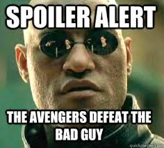 Image result for spoiler alert meme