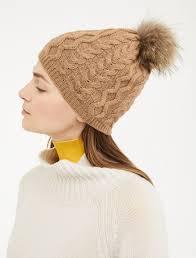 <b>Wool</b> and fur <b>hat</b>, <b>camel</b> - Weekend Max Mara