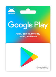 Google Play gift cards: Find a store.