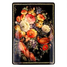 <b>Flowers and Birds Hand</b>-<b>painted</b> Lacquer Box   Product sku S-188472