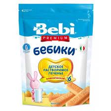 <b>Bebi</b> Premium <b>Печенье</b> детское <b>Бебики классическое</b> 115 г ...