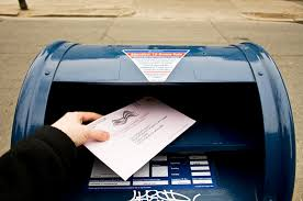 Image result for mailing ballots picture
