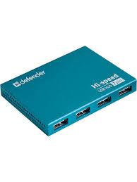 Универсальный разветвитель USB hub Septima <b>Slim</b> Defender ...