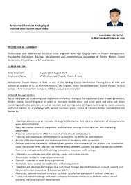 sample resume electrical s engineer cipanewsletter s engineer cv b