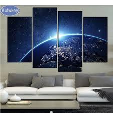 Earth From Space <b>5D</b>,<b>diy</b>,<b>Diamond</b> Painting <b>4pcs</b>,3d Cross Stitch ...