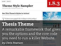 WordPress Thesis Theme