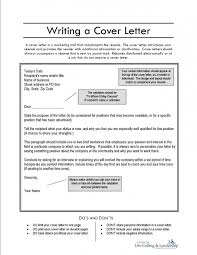 create a cover letter template create a cover letter