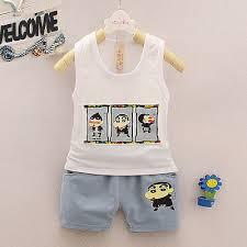 <b>DIIMUU Summer Baby</b> Boys Clothes Outfit <b>Toddler Kids</b> Boy ...