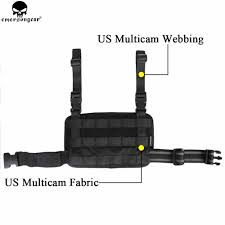 <b>EMERSONGEAR</b> Modular Rife Leg Panel Pouch <b>Tactical Molle</b> ...