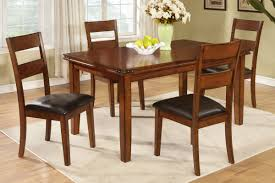 Country Style Dining Room Tables Oak Finish Country Style Dining Table By Poundex F2192