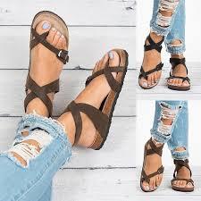 <b>Summer</b> Beach <b>Women Sandals</b> Bohemia Gladiator Leisure <b>Female</b> ...
