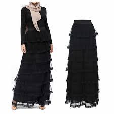 Plus Size Skirts <b>Faldas Mujer Moda 2019</b> Spring Abaya Dubai ...