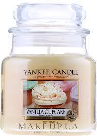 Yankee Candle <b>Vanilla Cupcake</b> - <b>Ароматическая свеча</b> в банке ...
