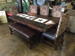 7ft dining table:  trestle table w xquot legs