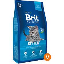 (Expiring 11/20) <b>Brit Premium Cat Kitten</b> 8kg Makanan Anak Kucing ...